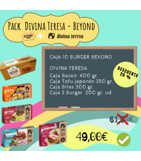 Pack BEYOND MEAT & DIVINA...